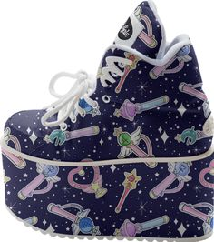 Sailor Senshi ♡ BUFFALO PLATFORM designed by lolle . | Print All Over Me