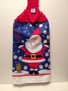 Hey, I found this really awesome Etsy listing at https://www.etsy.com/listing/480964336/towel-topper-of-santa-crochet-top-towel