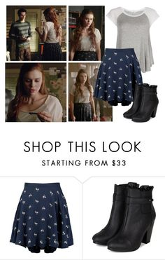Lydia Martin in 5x08 Ouroboros by saniday on Polyvore featuring mode, Ralph Lauren, Breckelle's, Splendid, TeenWolf, LydiaMartin and teenwolfoutfitshoppe