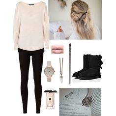 Betrayal by firebreatherr on Polyvore featuring 360 Sweater, Oasis, Rick Owens Lilies, UGG Australia, Olivia Burton, Givenchy and Lulu*s