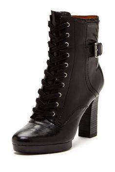 Beatrivia Tall Black Bootie on HauteLook