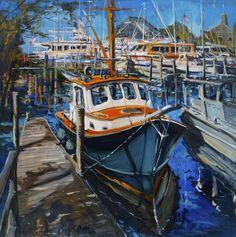 Hampstead, United States, oil on canvas, Gerard Byrne, www.gerardbyrneartist.com