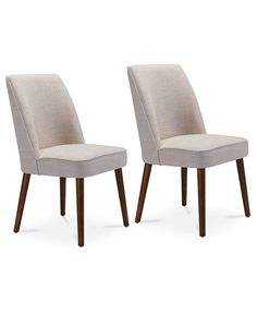 Zuo Carmin Dining Chair Set Of 2 Quick Ship Reviews Furniture Macy S