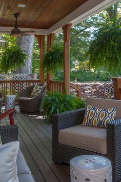 Front Porch | Falls Church, Virginia | Ballard Mensua Architecture