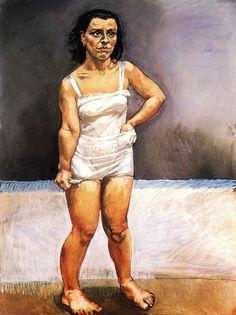 The knife - by Paula Rego (1936)
