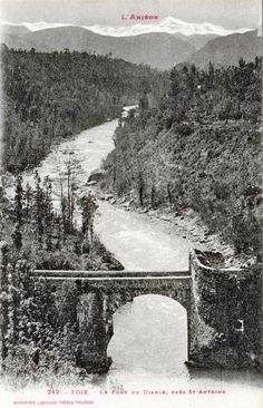 Vieux ponts de l'Ariège - Pont du Diable