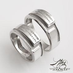 @zomorodijewelry님의 이 Instagram 사진 보기 • 좋아요 1,452개 Couple Rings, Unique Rings, Band Rings, Wedding Bands, Rings For Men, Bling, Engagement Rings, Diamond, Instagram Posts