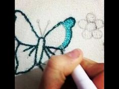 Panç işi Havlu Yapımı - YouTube Ribbon Embroidery, Cross Stitch Embroidery, Bordados E Cia, Diy And Crafts, Arts And Crafts, Punch Needle Patterns, Needlepoint, Lana, Sewing Crafts