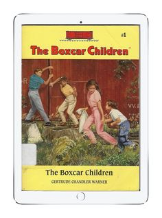 Our favorite childhood books on Epic!: The Boxcar Children by Gertrude Chandler Warner