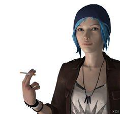 XNA - Life Is Strange - Chloe Price Render by XNA-Focus