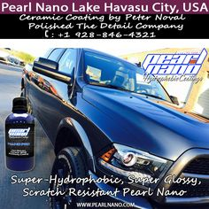 Pearl Nano Ceramic coating by Polished The Detail Company. Two days of curing and the Ceramic Coating is complete. Protection from the elements and perfect glossy shine. Ceramic Coating by Peter Noval of Polished The Detail Company. Call +1 928-846-4321 to make bookings.