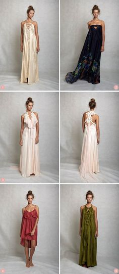 Perfect Bohemian bridesmaid dresses | Lisa Brown Bridesmaid Dresses | The Bride's Tree - Sunshine Coast Wedding