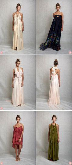 Perfect Bohemian bridesmaid dresses   Lisa Brown Bridesmaid Dresses   The Bride's Tree - Sunshine Coast Wedding
