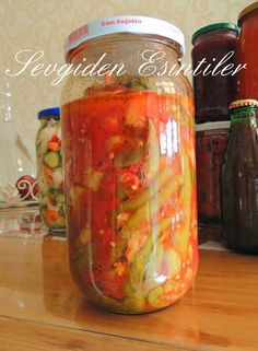 Love Breeze: Mixed Roast with Winter Tomato Sauce - Tomaten Turkish Recipes, Ethnic Recipes, Marinated Olives, Turkish Kitchen, Homemade Beauty Products, Winter Food, Afternoon Tea, Pickles, Mason Jars