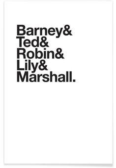 Maclaren's heroes als Premium Poster von JUNIQE | JUNIQE