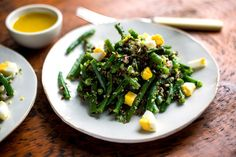 Green Bean Salad With Lime Vinaigrette and Red Quinoa - NYTimes.com