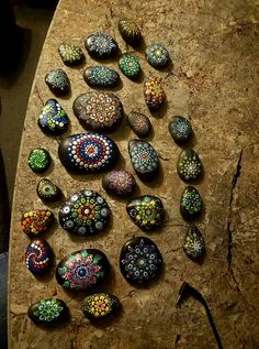 Sharon Elliot's Painted Stones