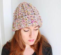 Gina Michele: Layered Yarn Beanie [knitting pattern]