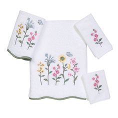 Avanti Premier Country Floral 4Piece Towel Set White -- Check out this great product.