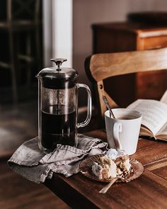 It's do you know where your afternoon coffee is? French Coffee, French Press Coffee Maker, Coffee Love, Coffee Shop, Coffee Puns, Coffee Humor, K Cup Coffee Maker, Matcha Tee, Ground Coffee Beans