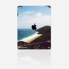 Ab jetzt hast du die Urlaubsstimmung im Gepäck! Wunderschöne Strandlandschaft für dein Tablet. #tabletfolie #creatisto #urlaub #beach #design