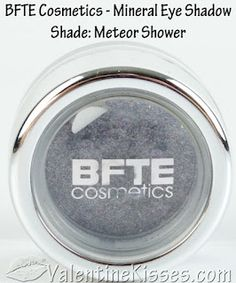 Love this color! Meteor Shower from BFTE Lipstick Jungle, Makeup Companies, Mineral Eyeshadow, Meteor Shower, Beauty Art, Swatch, Minerals, Cosmetics, Color