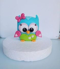 Owl cake topper - CakesDecor