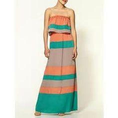 Color Block Maxi Dresses - Bing Images