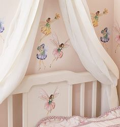 Fairies Wall Stickers | Flower Fairy Wall Stickers
