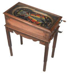 """Lot Detail - 1930s """"Scoop"""" Pinball Machine"""