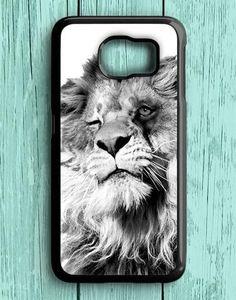 Funny Lion Animal Samsung Galaxy S6 Case