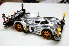 Silver Arrow owned by Tamiya Models, Mini 4wd, Japan Fashion, Scale Models, Japan Style, Silver, Cars, Scale Model, Japanese Fashion
