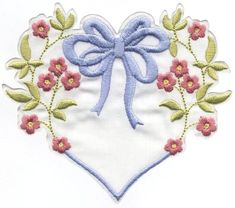 Dainty Floral Hearts and Circles