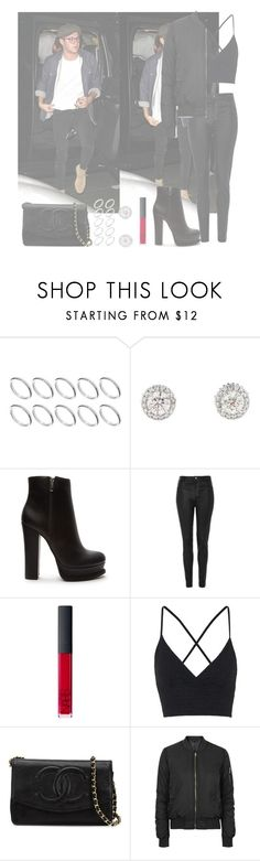 """Coldplay's concert with Niall"" by roldanroo ❤ liked on Polyvore featuring ASOS, Forever 21, Topshop, NARS Cosmetics and Chanel"