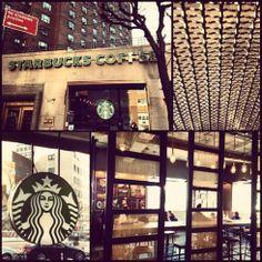 Kips Bay – Starbucks and the City Stuyvesant Town, River Park, Union Square, East Village, Valance Curtains, Night Life, Starbucks, The Neighbourhood, Nyc