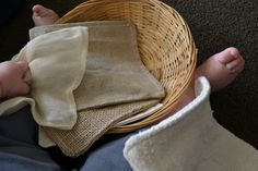 Textured fabric and block basket