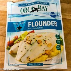 Baked Flounder Filets - 20 Minutes - Quick and Easy - Gluten Free Broiled Flounder Recipe, Baked Flounder, Flounder Recipes, Fish Recipes, Seafood Recipes, Cooking Recipes, What's Cooking, Keto Recipes