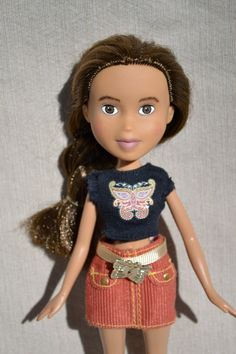 "Repainted Second-Hand Doll Make-Under - brown hair, brown eyes ""Nova"" by TrueBeautyProject on Etsy"