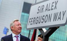 'Sir Alex Ferguson Way'