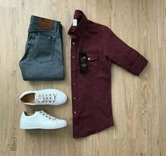 Men Casual Shirt Outfit 🖤 Very Attractive Casual Outfit Grid, Fashion Mode, Mens Fashion, Fashion Outfits, Fashion Trends, Mode Man, Casual Date Nights, Outfit Des Tages, Casual Outfits, Men Casual