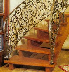 Wrought Iron Stairs - Wrought Iron Staircase - Wrought Iron Railings