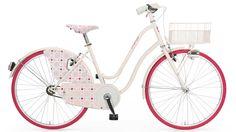 "dámsky retro bicykel Mima 26"" - matt pink"