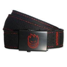 Spitfire ceinture Web Belt black red 28€ #spitfire #spitfirewheel #spitfirewheels #belt #belts #ceinture #ceintures #skate #skateboard #bighead #firehead #skateboarding #streetwear #streetshop #skatewear #skateshop