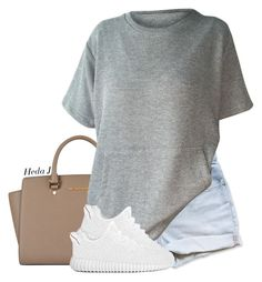 """"""""""" by justice-ellis ❤ liked on Polyvore featuring MICHAEL Michael Kors and hedaj"""