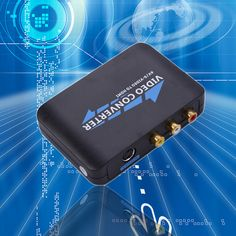 AV to HDMI HD video connverter COMPOSITE S-Video to HDMI Converter AV Adapter R/L Audio 720P 1080P