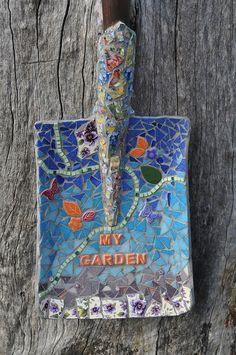 Mosaic Shovel | Flickr - Photo Sharing!