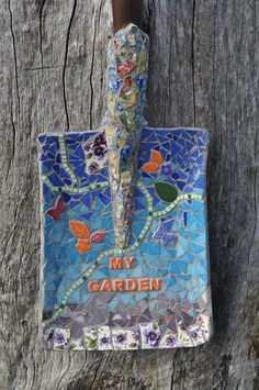 Mosaic Shovel | Flickr - Photo Sharing!