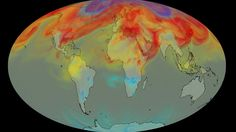 Nasa carbon space observatory 'watches Earth breathe'. A Nasa satellite has provided remarkable new insights on how CO2 is moved through the Earth's atmosphere.  The Orbiting Carbon Observatory (OCO) tracked the behaviour of the gas in 2015/2016 - a period when the planet experienced a major El Niño event.  This climate phenomenon boosts the amount of CO2 in the air.