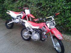 modded crf 110 from the uk   PlanetMinis Forums 110 Dirt Bike, Pit Bike, New Honda, Rear Ended, Atv, Mini, Tactical Vest, Sweater Vests, Mtb Bike