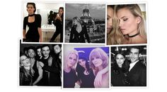 With Gigi Hadid's throwback, Lara Stone backstage at Atelier Versace, Lexi Boling at the Givenchy after-party and Alessandra Ambrosio before the Balmain menswear show, the Menswear-Couture crossover led the biggest names in the fashion industry to Paris this week. See how your favorite models are spending their time before, after and between shows.